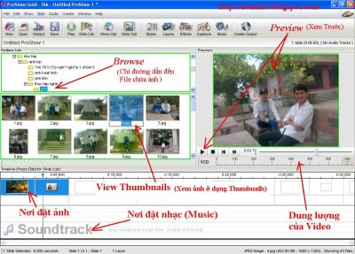 Proshow Gold 4.5.2929 + Keygen + Hướng dẫn sử dụng + Phần mềm làm phim